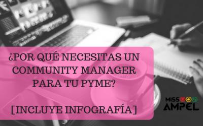 Funciones del Community Manager. ¿Por qué necesitas un community manager para tu PYME? + INFOGRAFÍA